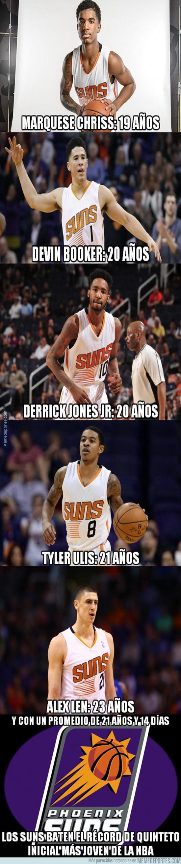 962011 - Un gran récord para la historia de los Suns