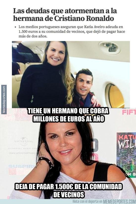 962166 - La tremenda deuda que tiene la hermana de Cristiano Ronaldo