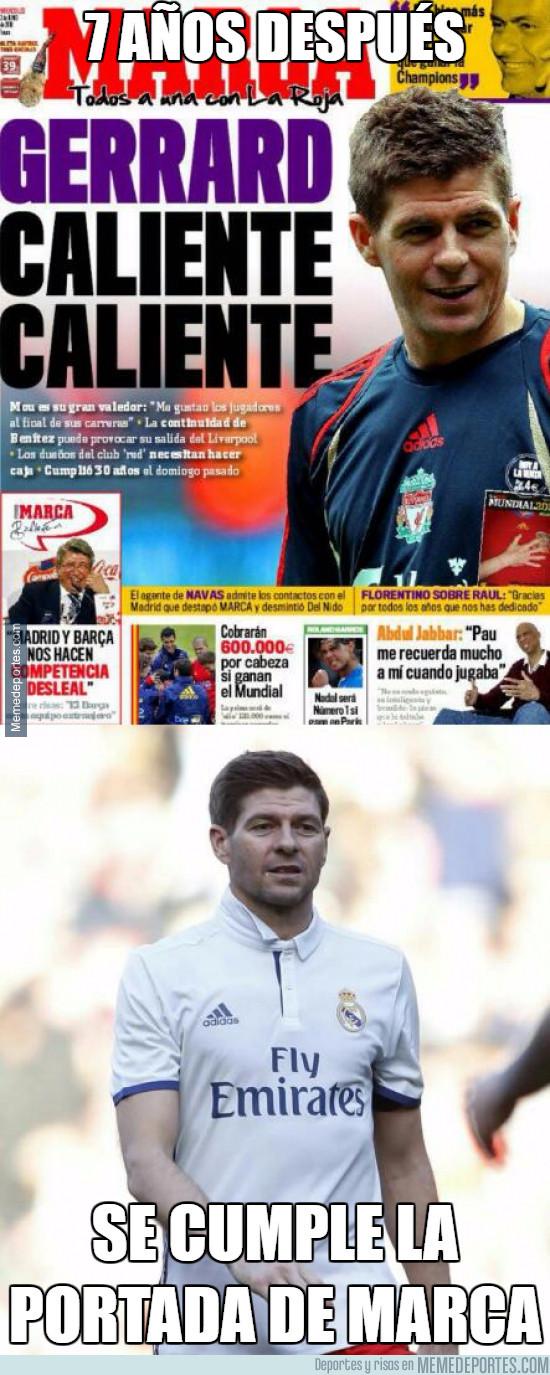 962536 - A lo tonto a lo tonto, 7 años después se cumple una portada de Marca