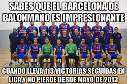 Enlace a Lo del Barcelona de balonmano sí que es un abuso