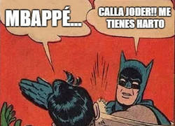 Enlace a Mbappé por aquí, Mbappé por acá