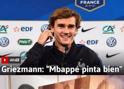 Enlace a Lo que opina Griezmann de Mbappé