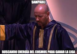 Enlace a Sampaoli ya no sabe qué hacer