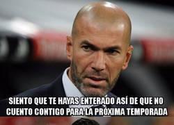 Enlace a Zidane es un cachondo