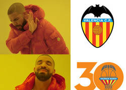 Enlace a Valencia fútbol VS Valencia Basket