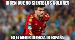Enlace a Piqué siempre callando bocas con España