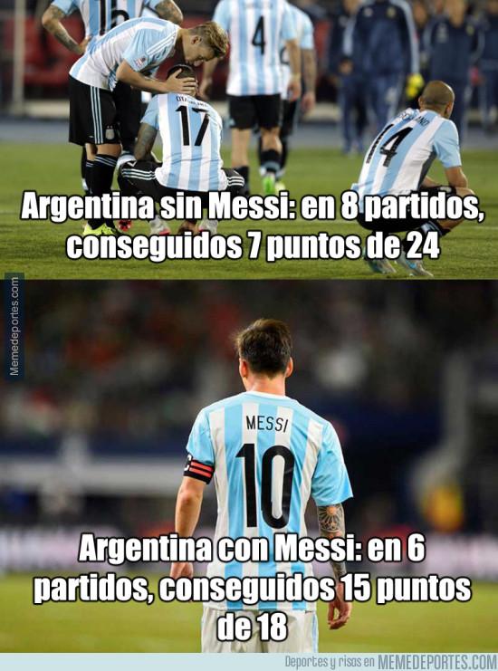 962992 - ¿Peligra la clasificación de Argentina para el mundial sin Messi?