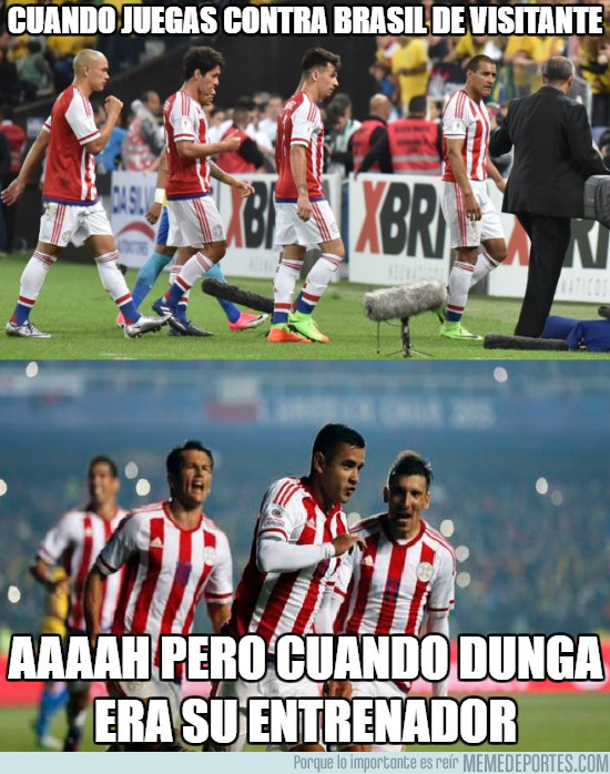 963071 - Paraguay sucumbe ante Brasil