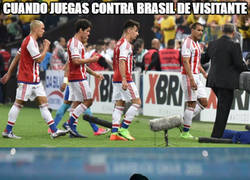 Enlace a Paraguay sucumbe ante Brasil