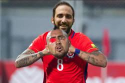 Enlace a Arturo Vidal contra Venezuela