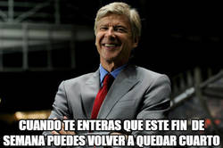 Enlace a Wenger sonríe de nuevo