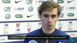 Enlace a Vídeo: Griezmann les dice a la prensa lo que piensa sobre Mbappé
