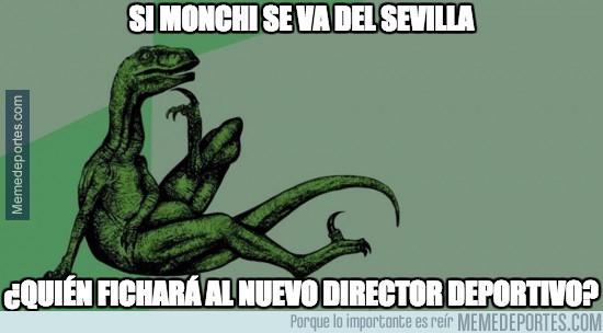 963453 - Si Monchi se va del Sevilla...