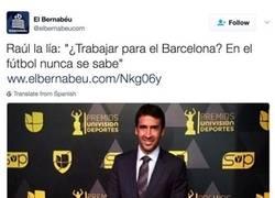 Enlace a Los madridistas ahora podrán respirar tranquilos por Raúl