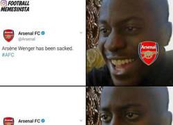 Enlace a La pequeña broma del Arsenal por el día de los Inocentes
