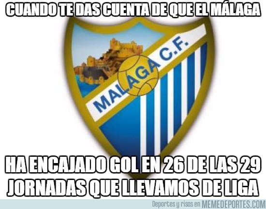 963802 - Dice poco de la defensa del Málaga
