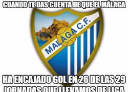 Enlace a Dice poco de la defensa del Málaga