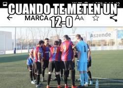 Enlace a Indignación por parte del Eldense tras el 12-0 del Barça