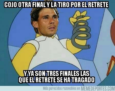 964454 - Rafael Nadal se tropieza con la misma piedra