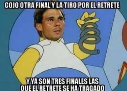 Enlace a Rafael Nadal se tropieza con la misma piedra