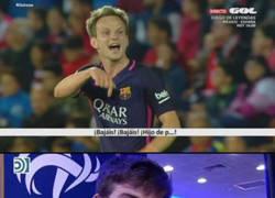 Enlace a Rakitic y los valores del Barça