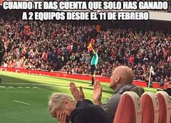 Enlace a Menuda racha más lamentable la de Wenger