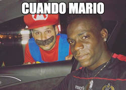 Enlace a Mario conoce a Super Mario