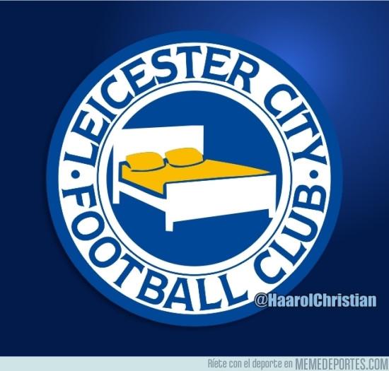 964735 - El nuevo escudo del Leicester
