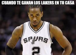 Enlace a Cuando te ganan los Lakers en tu casa...