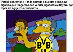 Enlace a El Borussia y su día a día