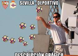 Enlace a Festival de goles en el Pizjuán entre Sevilla y Dépor