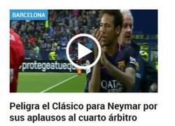 Enlace a Messi sale en defensa de Ney y explica que pasó con los aplausos al cuarto árbitro