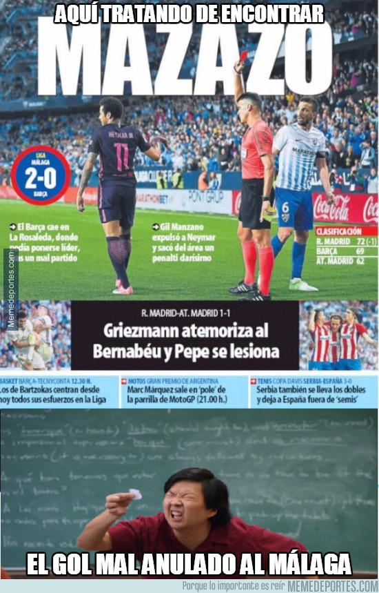 965917 - Los periódicos deportivos siempre tan objetivos e imparciales..