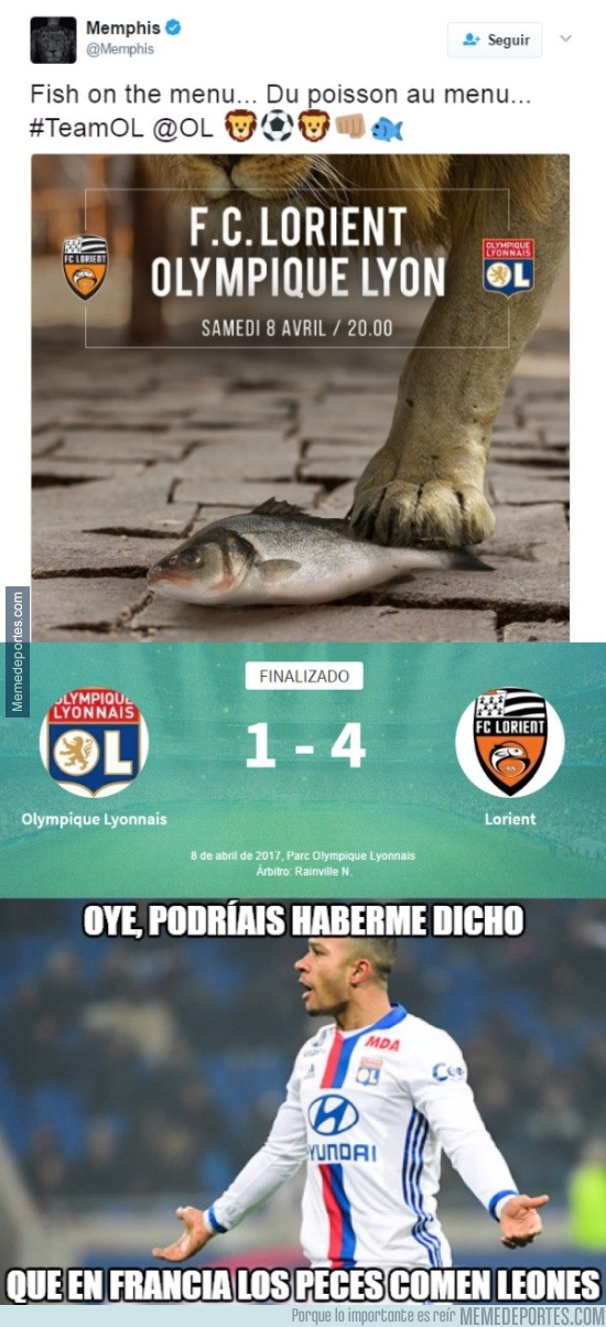 966014 - Memphis Depay y el Olympique de Lyon se han venido demasiado arriba