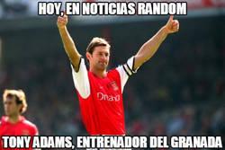 Enlace a Tony Adams: de mito del Arsenal a entrenar al Granada