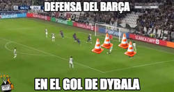 Enlace a Terrible la defensa...