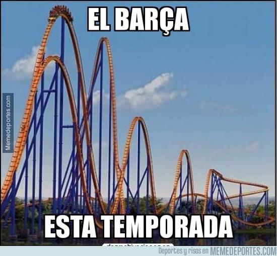 966447 - La irregularidad del Barça esta temporada...