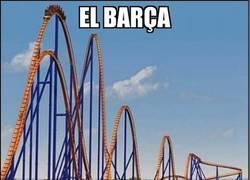 Enlace a La irregularidad del Barça esta temporada...