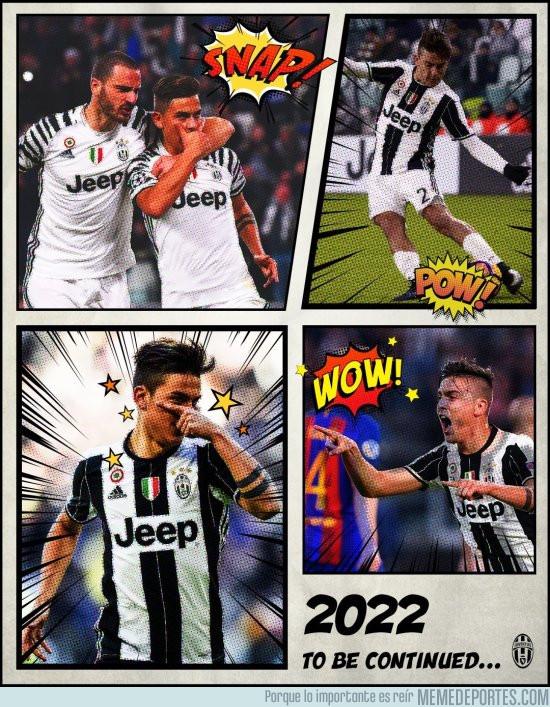 967007 - Con esta imagen la Juventus anuncia la renovación de Dybala