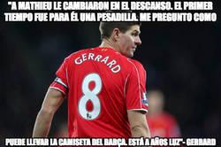 Enlace a Las declaraciones de Gerrard contra Mathieu