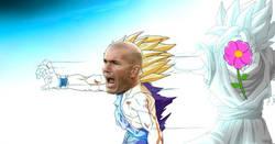 Enlace a La flor ayudando a Zidane