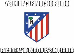 Enlace a Gran racha del Atlético de Madrid
