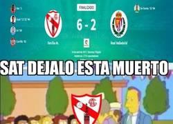 Enlace a Goleada del Sevilla Atlético al Valladolid