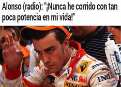 Enlace a Alonso y su situación con McLaren cada día peor