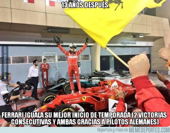967845 - Los alemanes dándole vida a Ferrari