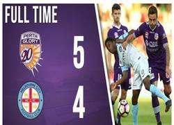 Enlace a Si algo no falta en la Liga Australiana son los goles