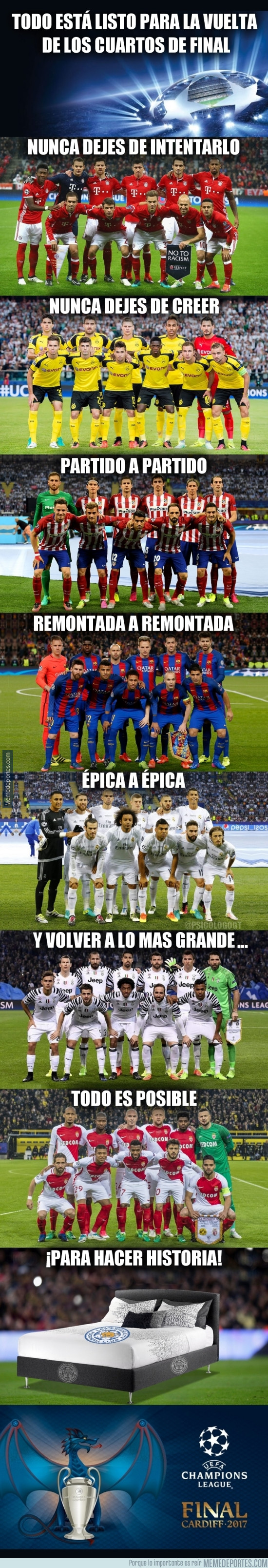 968033 - Ocho equipos, un mismo sueño: La Champions League