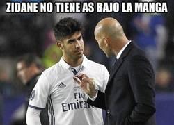 Enlace a Zidane lo tiene controlado