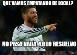 Enlace a Ramos la lía en el Bernabéu
