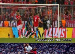 Enlace a ¿Robo al Bayern? Estas imágenes dicen lo contrario